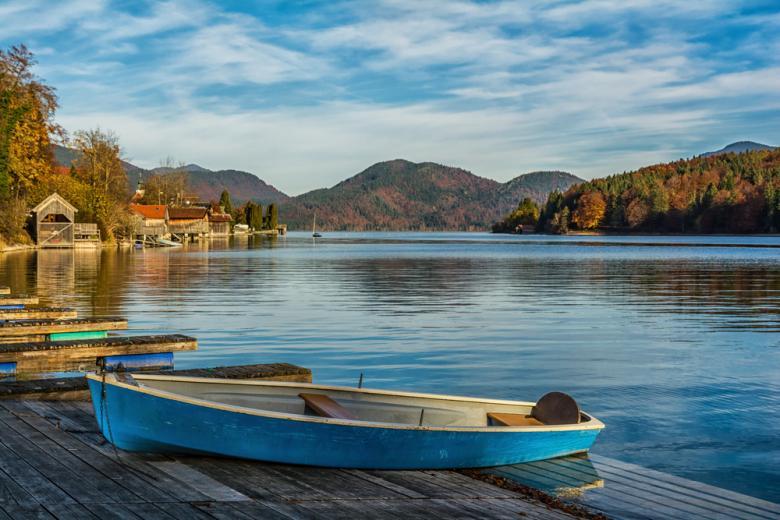 вид на озеро Вальхензее фото