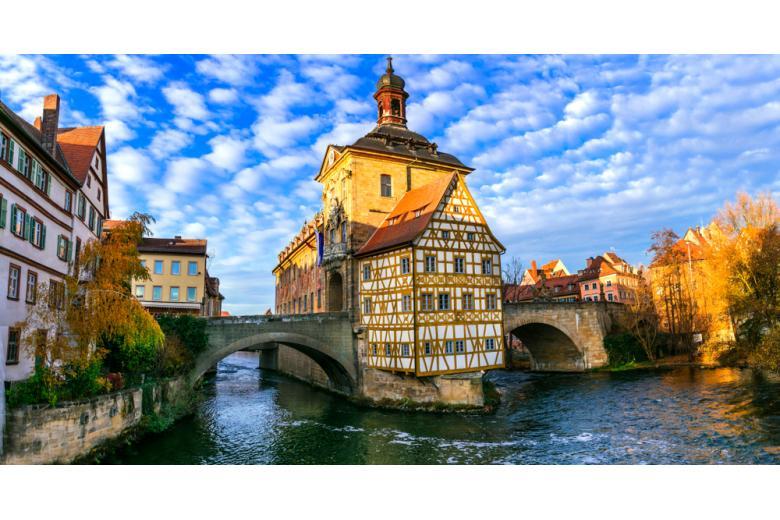 Исторический центр Бамберга, Бавария фото