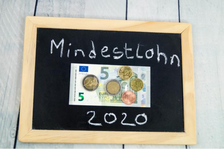 концепция минимальной зарплаты в Германии в 2020 фото