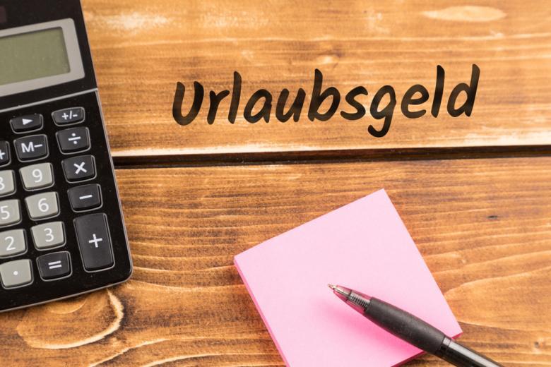 концепт Urlaubsgeld, дополнительных отпускных фото