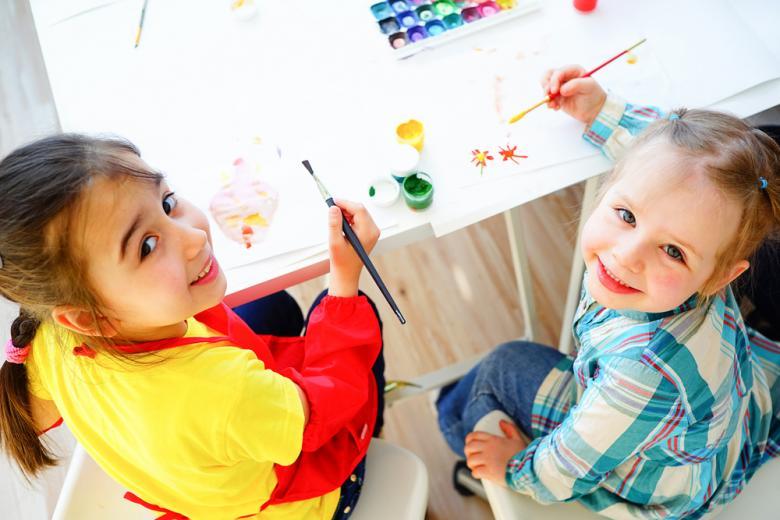 Кружок рисования для детей фото