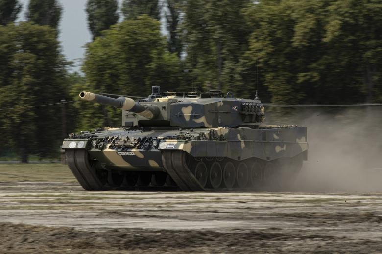 Леопарды перевооружают вооруженные силы Венгрии фото