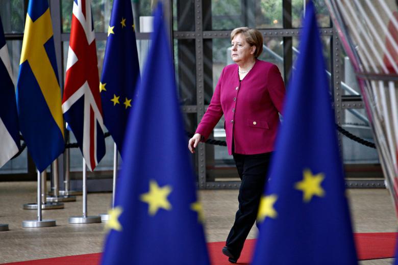 Меркель обрисовала видение новой Европы фото