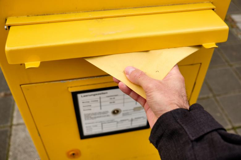 письмо в почтовом ящике фото