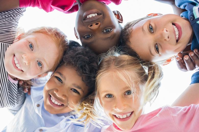 Счастливые лица детей фото