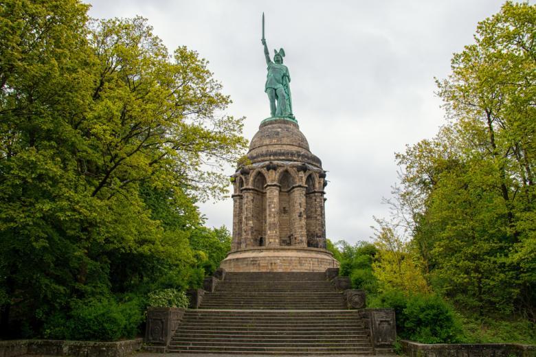 Статуя Арминия Герману в Детмольде