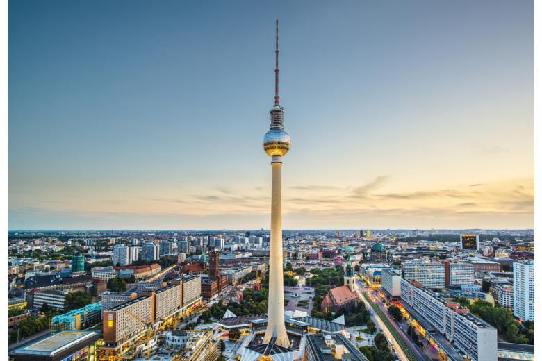Вид на Берлин фото