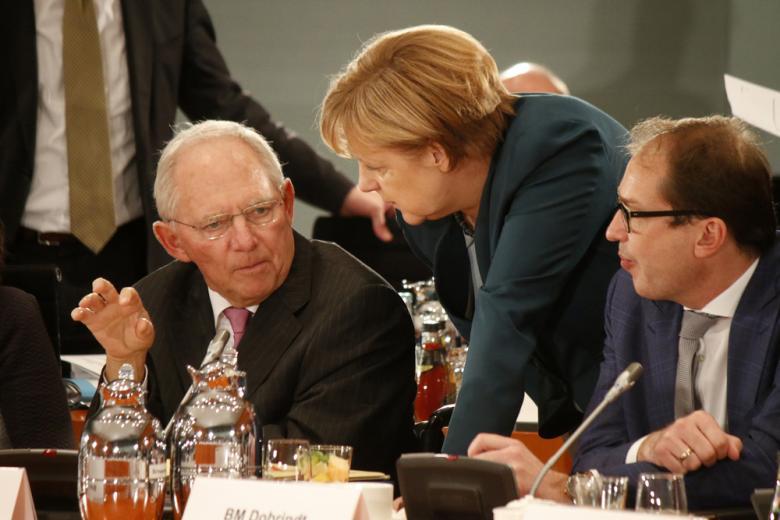 Вольфганг Шойбле и Ангела Меркель фото