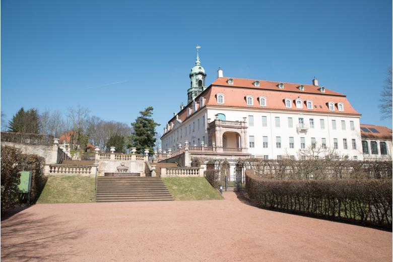 Замок и парк Lichtenwalde фото