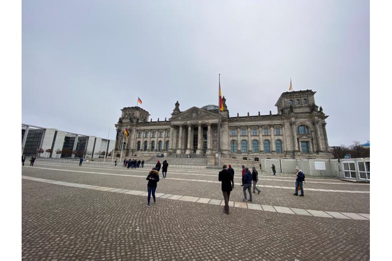 здание парламента Германии фото