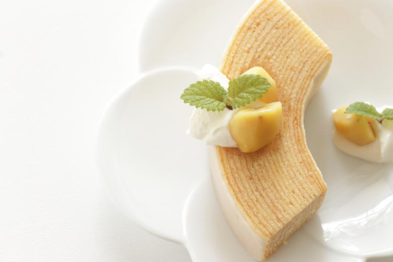 Баумкухен осенний изысканный десерт фото