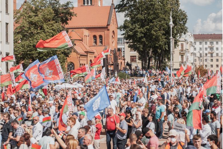 Беларусская власть не идет на переговоры, а Германия предлагает национальный диалог фото