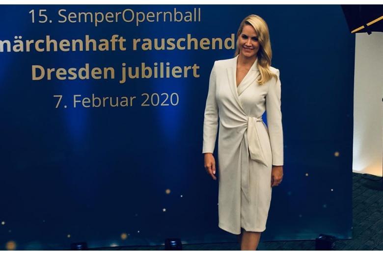 Judith Rakers - ведущая Евровидения и телезвезда фото