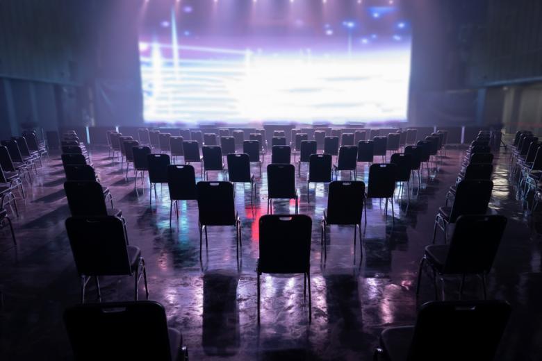 концертный зал во время коронавируса фото
