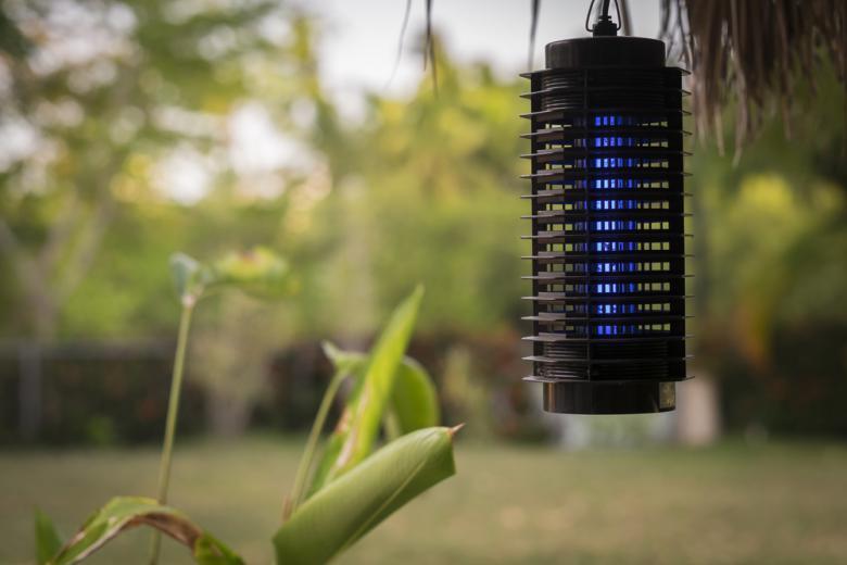 Лампа-ловушка для насекомых фото