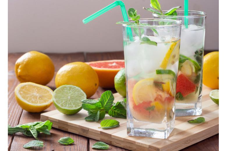 Лимонад можно приготовить дома - здоровая альтернатива промышленным ароматизаторам и стабилизаторам в напитках фото