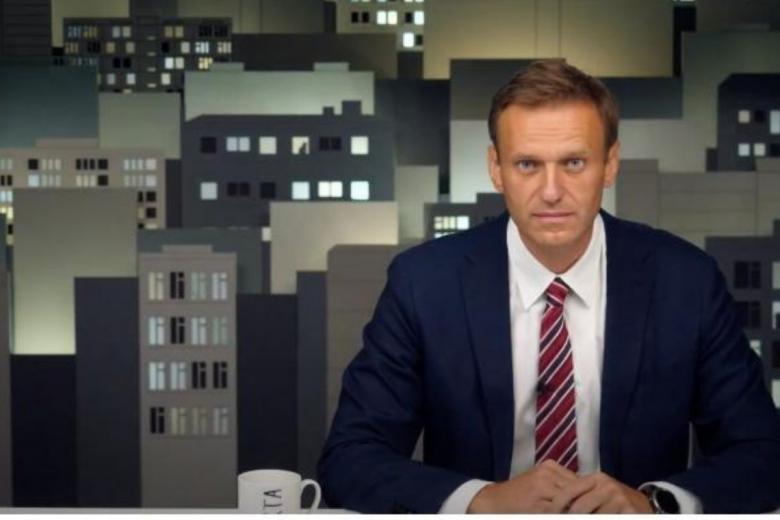 Российский политик Алексей Навальный