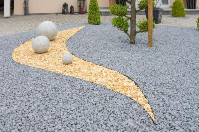 сады из гравия в Германии