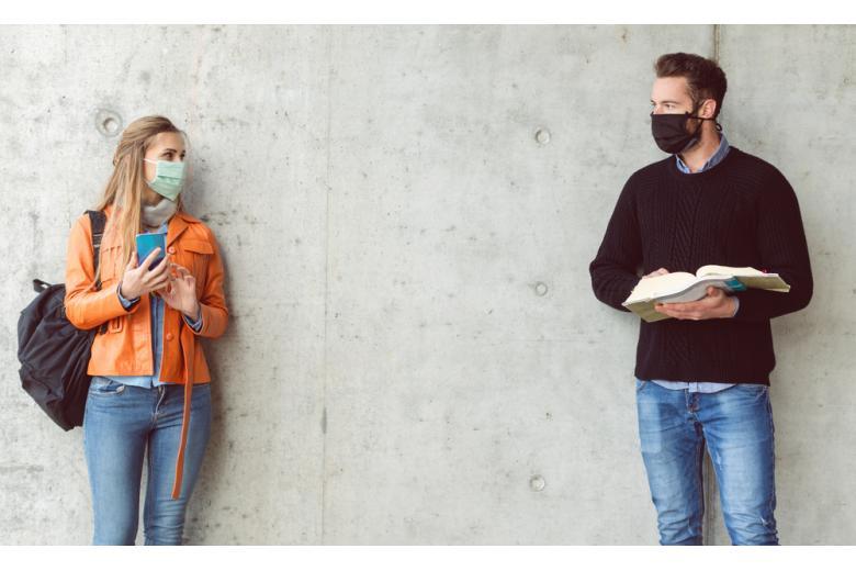 школьники в масках фото