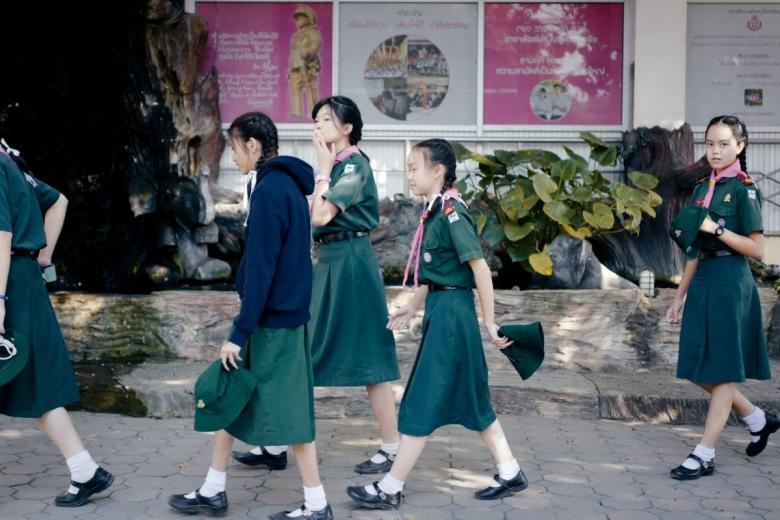 Школьники из Тайланда. Фото: billow926 / unsplash.com