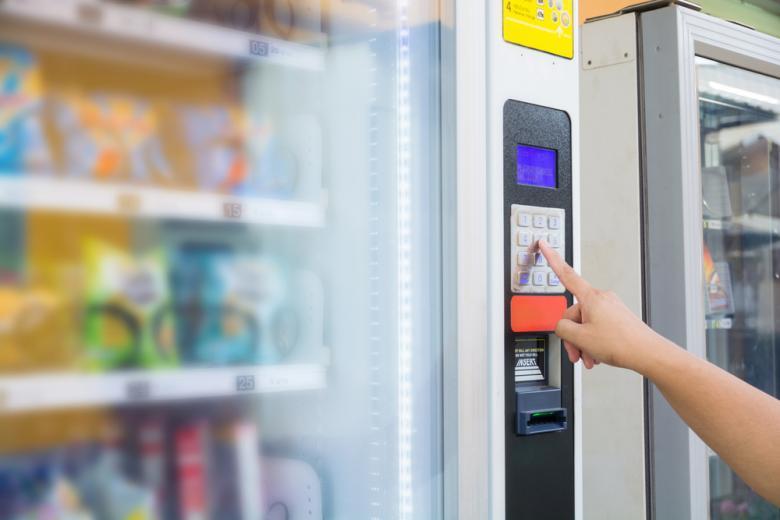 торговый автомат с продуктами фото