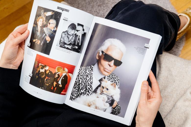 Журнал с селебрити фото