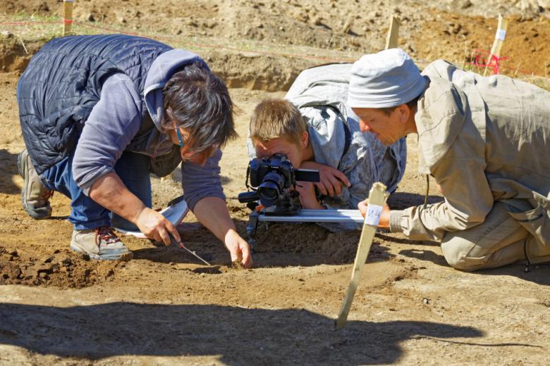 археологи на работе фото
