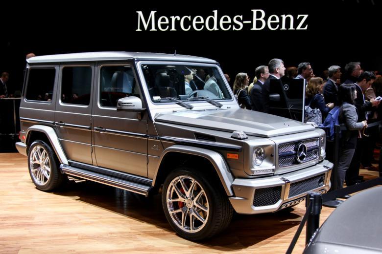 Mercedes G 65 AMG фото