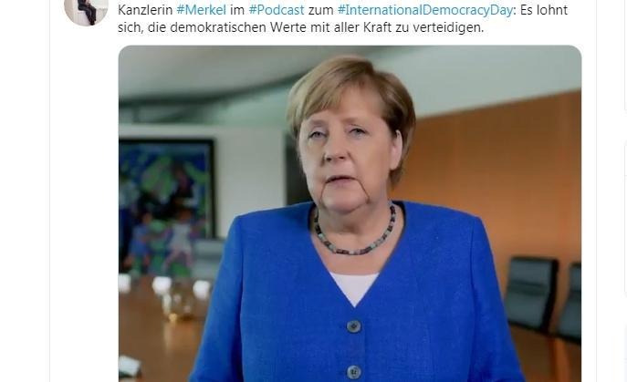 Международный день демократии в Германии