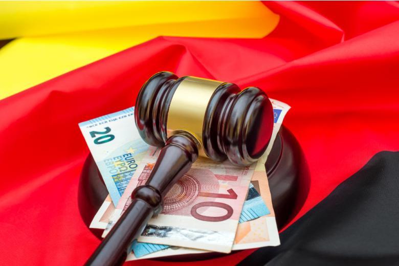 молоток судьи в Германии фото