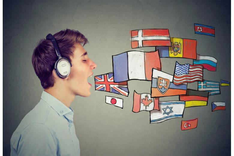 парень разговаривает на разных языках фото