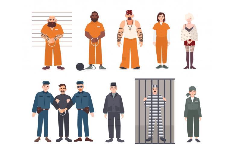 Потенциальные преступники могут быть среди освобожденных, потому что суды перегружены фото