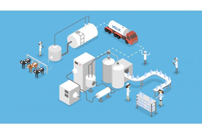 Производители молока соревнуются в объемах и наращивают мощь фото