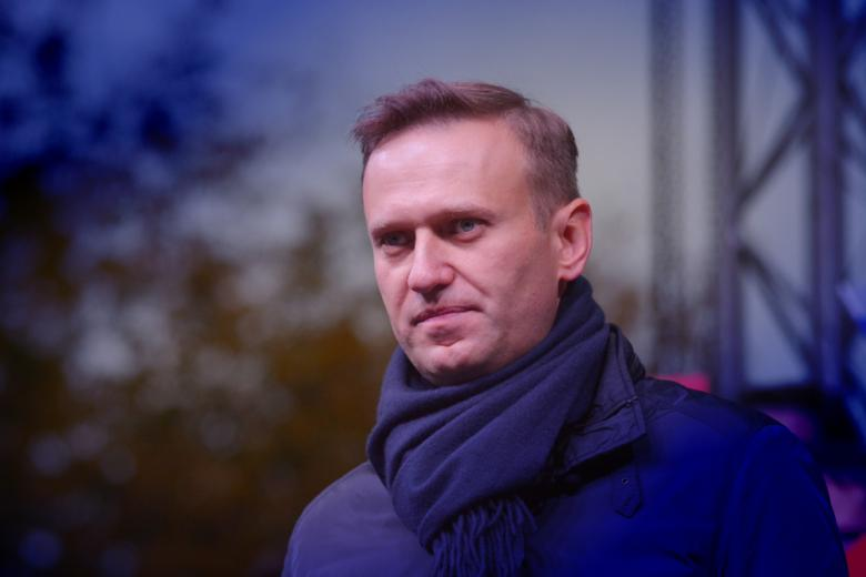 Российский оппозиционер Навальный фото
