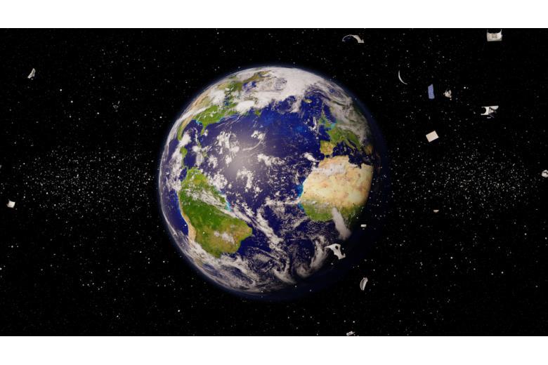 вид на Землю из космоса фото