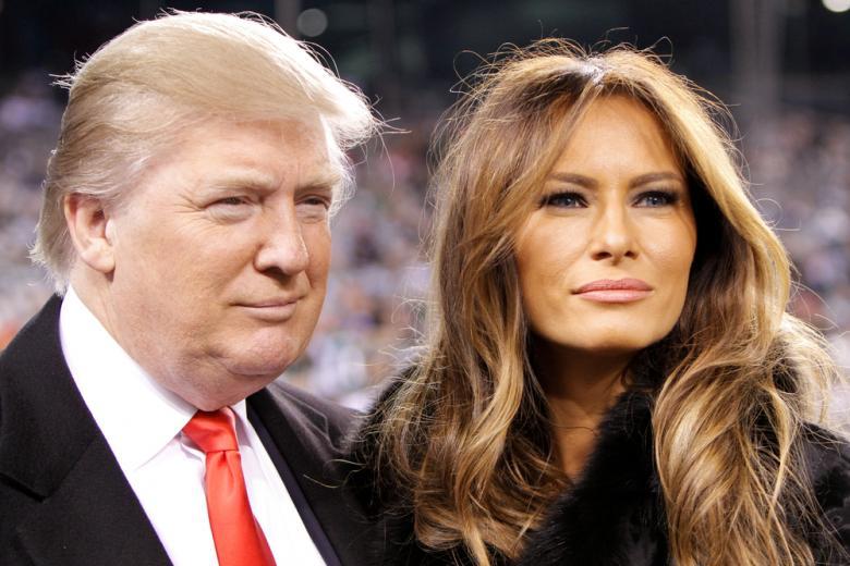Дональд и Мелания Трамп фото