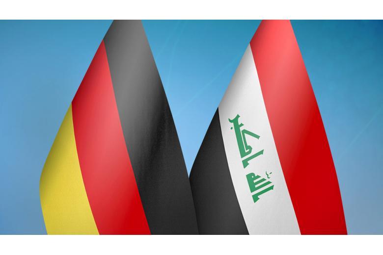 флаги Германии и Ирака фото