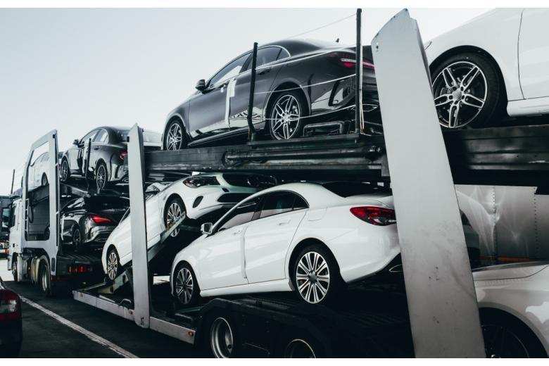 Перевозка автомобилей для продажи фото