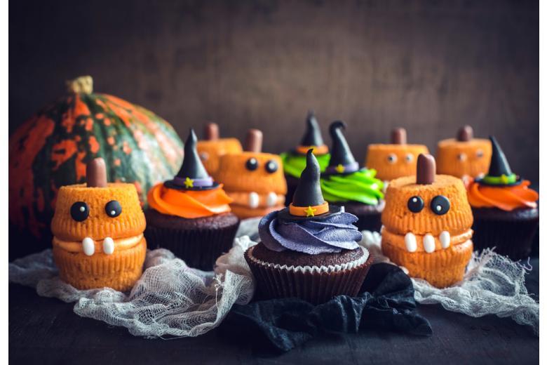 пирожные для Хэллоуина фото
