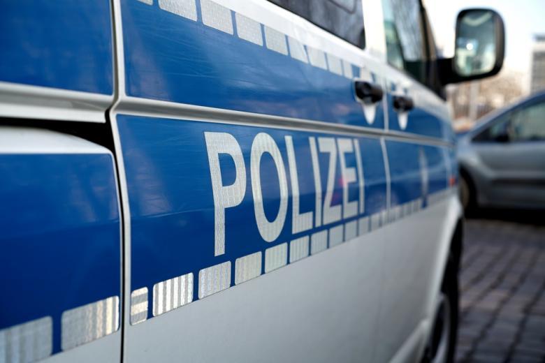 полицейская машина в Германии фото