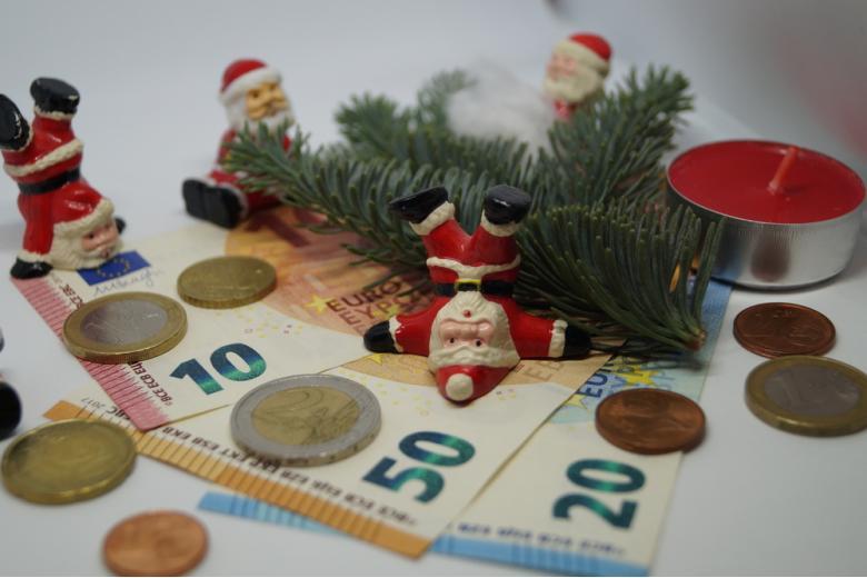рождественский бонус Weihnachtsgeld концепт фото