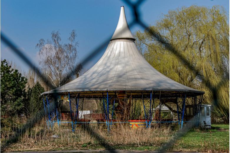 Шпреепарк - заброшенный парк в Берлине фото