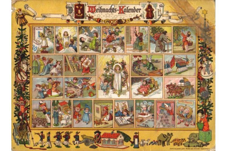 Адвент-календарь на Рождество