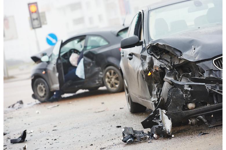 Авария на перекрёстке фото