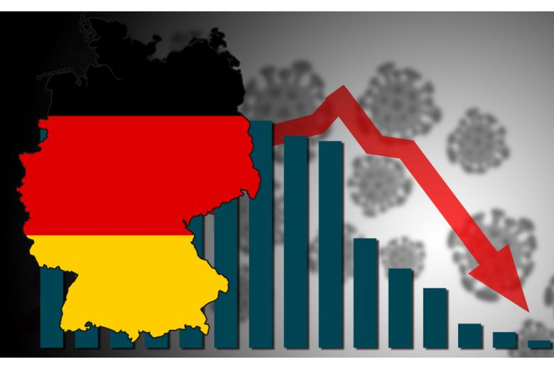 COVID на карте Германии фото
