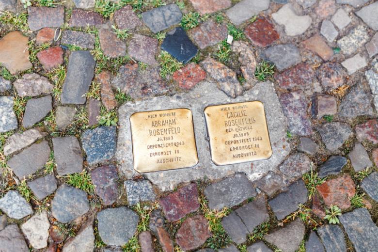 Камни преткновения, Берлин фото