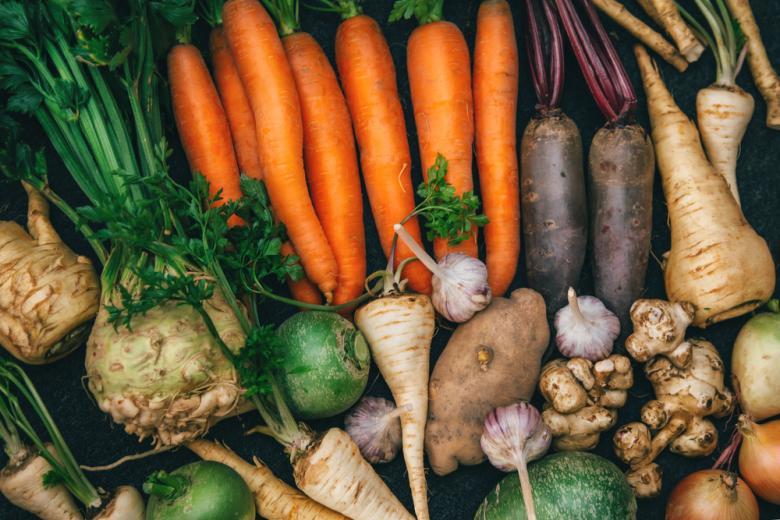 Корневые овощи фото