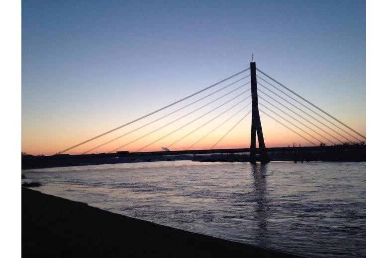 Мост через рейн в Дюссельдорфе будут сносить и строить заново фото