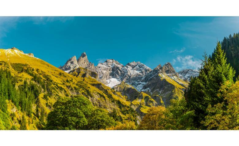 Осеннее настроение в Альгойских Альпах возле Оберстдорфа фото