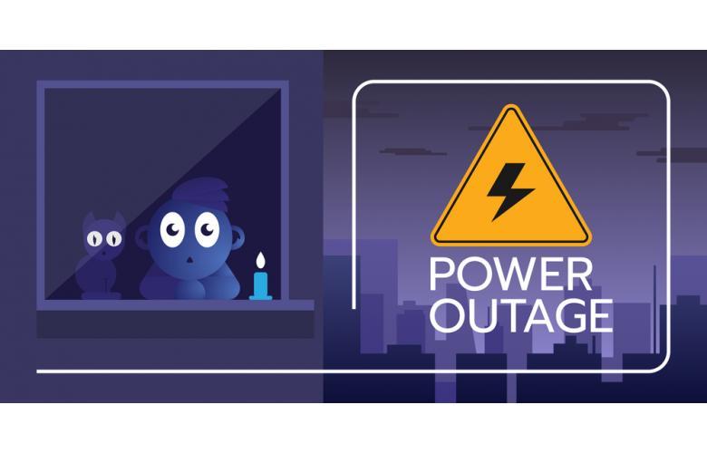 Отключённое электричество фото